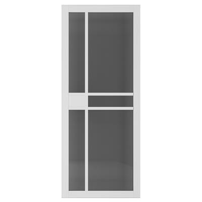 Deanta Internal Dalston White Primed Tinted Glazed Door
