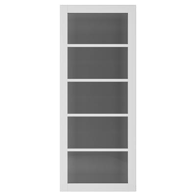 Deanta Internal Shoreditch White Primed Tinted Glazed Door