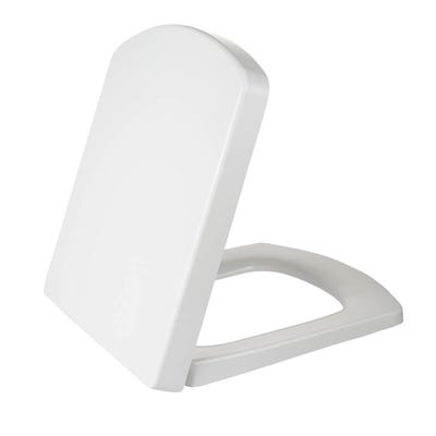 Saneux I-Line II Soft Close Seat Only White