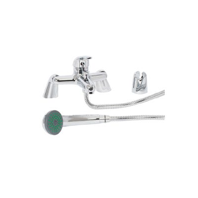 Tiree Bath Shower Mixer Kit With Legs