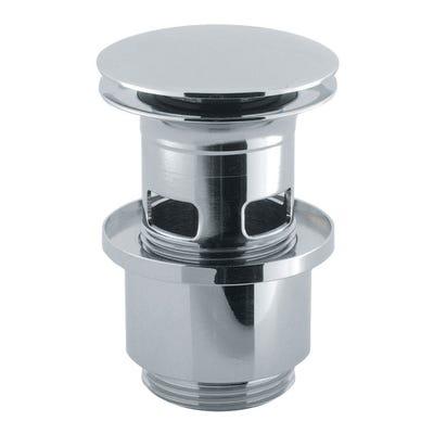 Crosswater Slotted Click Basin Waste Chrome