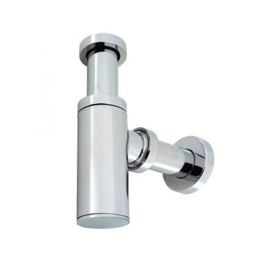 Crosswater Millennium Tall Basin Bottle Trap & 400mm Pipe Chrome