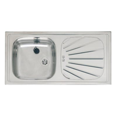 Reginox Alpha 10 860mm x 435mm Single Bowl Sink Pack