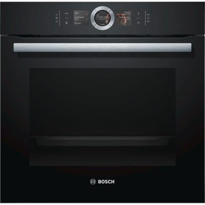 Bosch HBG6764B6B Serie 8 Single Pyrolytic Black