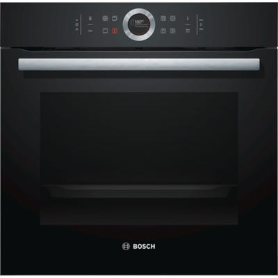 Bosch HBG674BB1B Serie 8 Single Pyrolytic Oven 13 Function Black