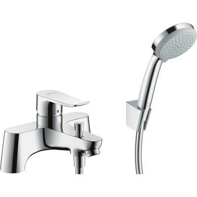 hansgrohe Metris Deck Mounted Bath Shower Mixer Low Pressure