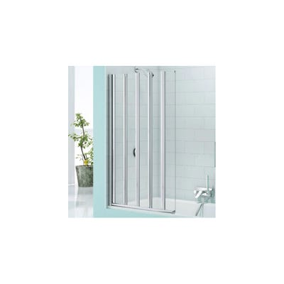Merlyn Secureseal 1000mm x 1500mm 5 Fold Bath Screen