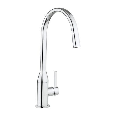 Crosswater Cucina Svelte Side Lever Kitchen Sink Tap Chrome