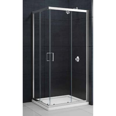 Merlyn Mbox 800mm x 800mm Corner Entry Shower Enclosure