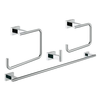 Grohe Essentials Cube Accessories 4 In 1 Set