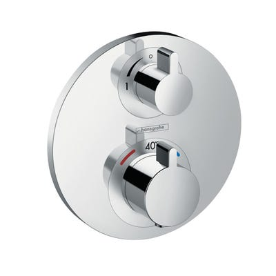hansgrohe Ecostat S Thermostatic Concealed Mixer 1 Outlet