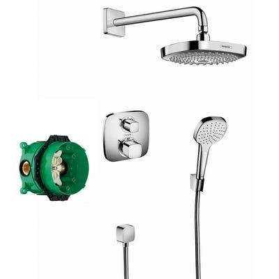 hansgrohe Design Shower Set Croma Select E Ecostat