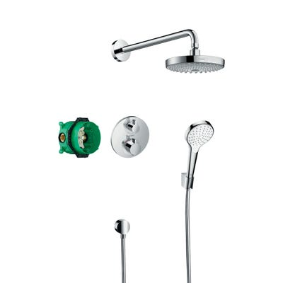 hansgrohe Design Shower Set Croma Select S Ecostat