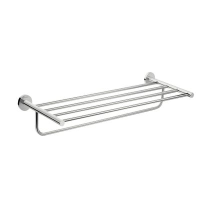 hansgrohe Logis Universal Towel Rack With Towel Holder Chrome