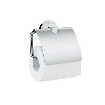 hansgrohe Logis Universal Toilet Roll Holder With Cover Chrome