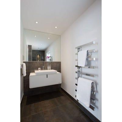 Towelrads Soho Chrome Straight Towel Radiator 1245mm x 500mm