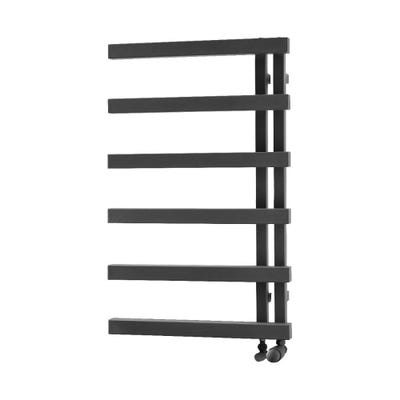 Towelrads Soho Anthracite Straight Towel Radiator 1245mm x 500mm