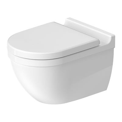 Duravit Starck 3 Wall Hung Toilet Concealed Fixings Rimless Box Set