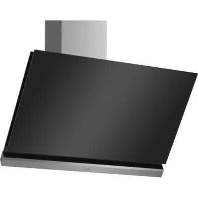 Bosch DWK98PR60B Serie 8 90cm Home Connect Angled Glass Hood