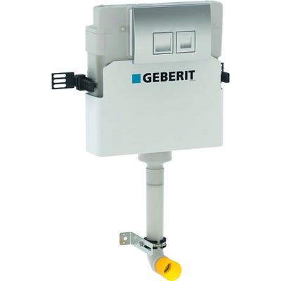 Geberit Delta Concealed Cistern 12cm With Delta 50 Flush Plate Chrome