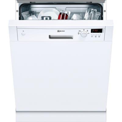 Neff S41E50W1GB N30 60cm Semi Integrated Dishwasher 9.5L