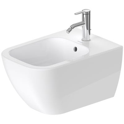Duravit Happy D.2 Bidet Wall Mounted 355 x 400 x 540mm