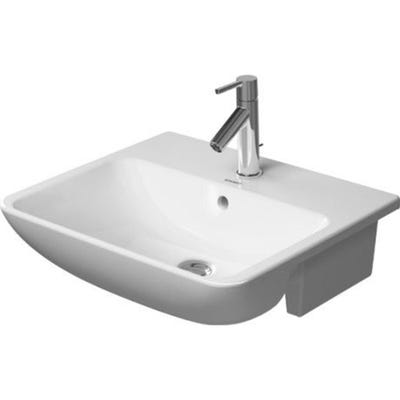 Duravit Me By Starck Semi Recessed 550mm Washbasin