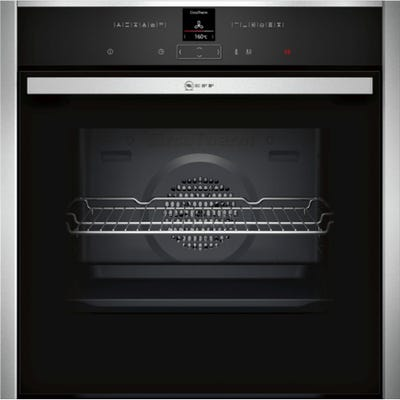 Neff B27CR22N1B N70 Built-In Single Pyrolytic Oven Stainless Steel
