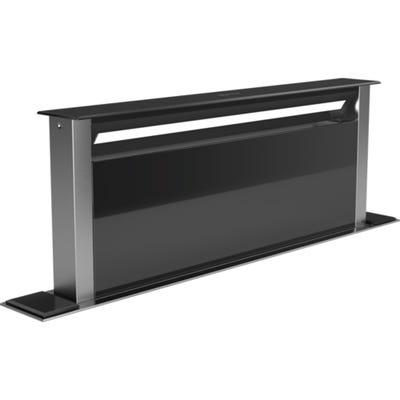 Neff D95DAP8N0B N90 90cm Worktop Downdraft Hood Clear Glass Black Printed