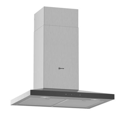 Neff D64QFM1N0B N50 60cm Slim Pyramid Chimney Hood Stainless Steel