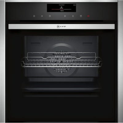 Neff B58VT68H0B N90 Slide & Hide Built-In Pyrolytic Single Oven