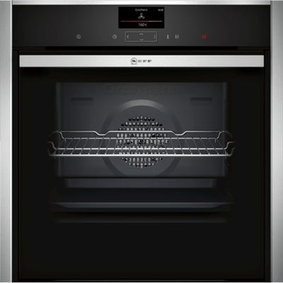 Neff B57CS24H0B N90 Slide & Hide Built-In Pyrolytic Single Oven