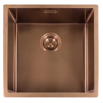 Reginox Miami 50x40 L Inset or Undermount Sink Copper