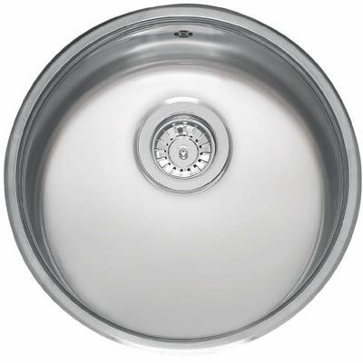 Reginox L18 370 Okg L Round Bowl Undermount Sink