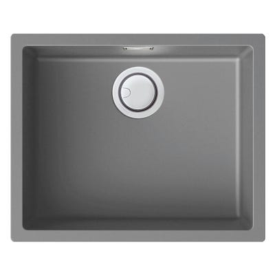 Reginox Multa 105 Inset Granite Sink Light Grey