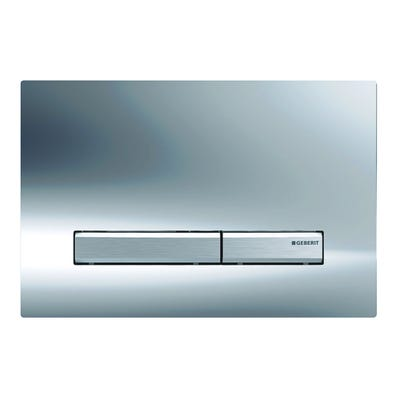 Geberit 115.788.21.2 Sigma50 Dual Flush Plate Gloss Chrome