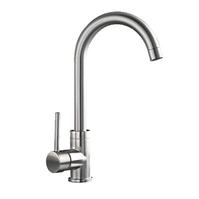 Eco Single Lever Kitchen Sink Mixer Stainless Steel Finish