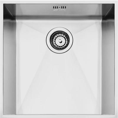 Smeg VSTQ40-2 Quadra 1.0 Bowl Undermount Sink 420mm Stainless Steel