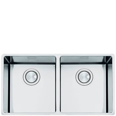 Smeg VSTR3434-2 Mira 2.0 Bowl Undermount Sink 802mm Stainless Steel
