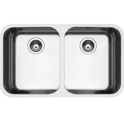Smeg UM4545 Alba 2.0 Bowl Undermount Sink Stainless Steel