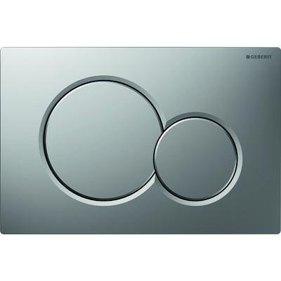 Geberit 115.770.46.5 Sigma01 Dual Flush Plate Matt Chrome Plated