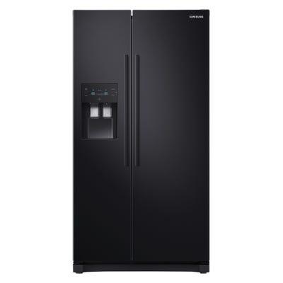 Samsung RS50N3413BC/EU Free-Standing 912mm American Fridge Freezer Black