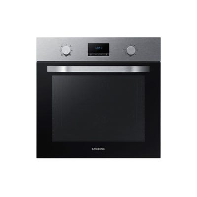 Samsung NV70K1340BS/EU 60cm Dual Fan Single Oven Steel & Black
