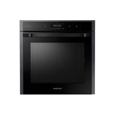 Samsung NV73N9770RM/EU 60cm Gourmet Pyrolytic Single Oven Black