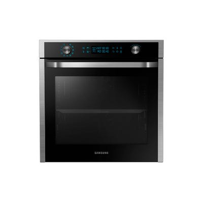 Samsung NV75J7570RS/EU 60cm Single Oven With Dual Cook Steel & Black
