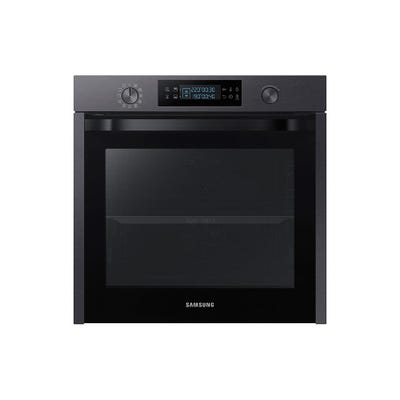 Samsung NV75K5571RM/EU 60cm Single Oven With Dual Cook Matt Black
