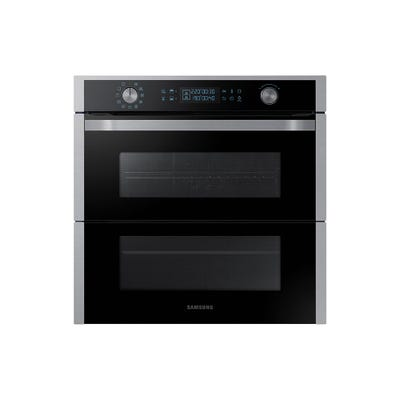 Samsung NV75N7647RS/EU 60cm Dual Flex Single Oven Steel & Black