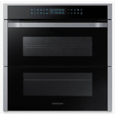 Samsung NV75R7676RS/EU 60cm Dual Flex Single Pyro Oven Steel & Black