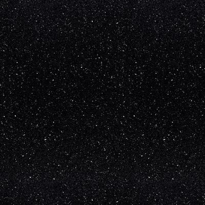 Oasis Black Andromeda 3000mm x 600mm x 38mm Worktop