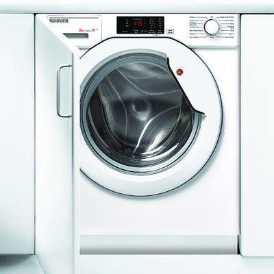 Hoover HBWM 814D-80 Fully Integrated 8kg 1400 Spin Washing Machine